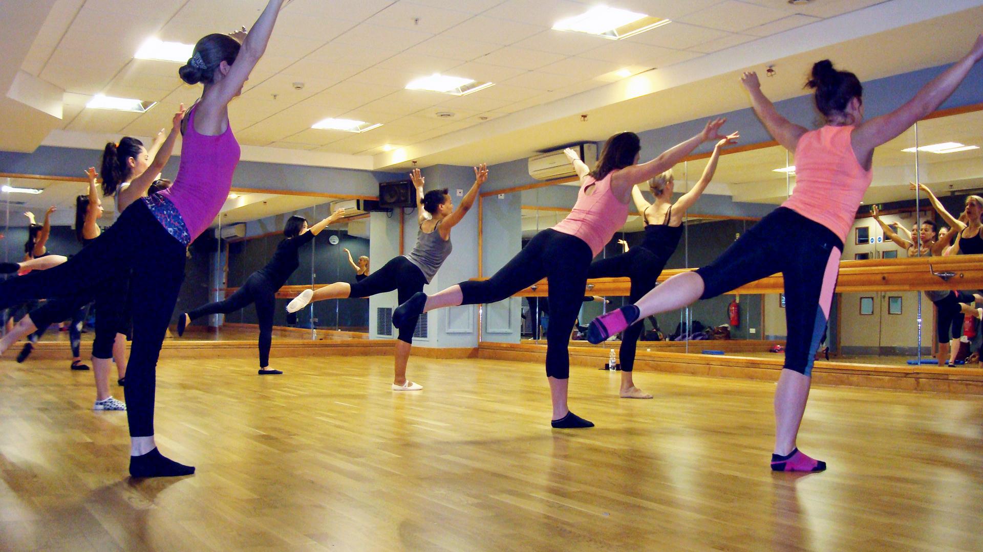 Copy of ballet body sculpture classes