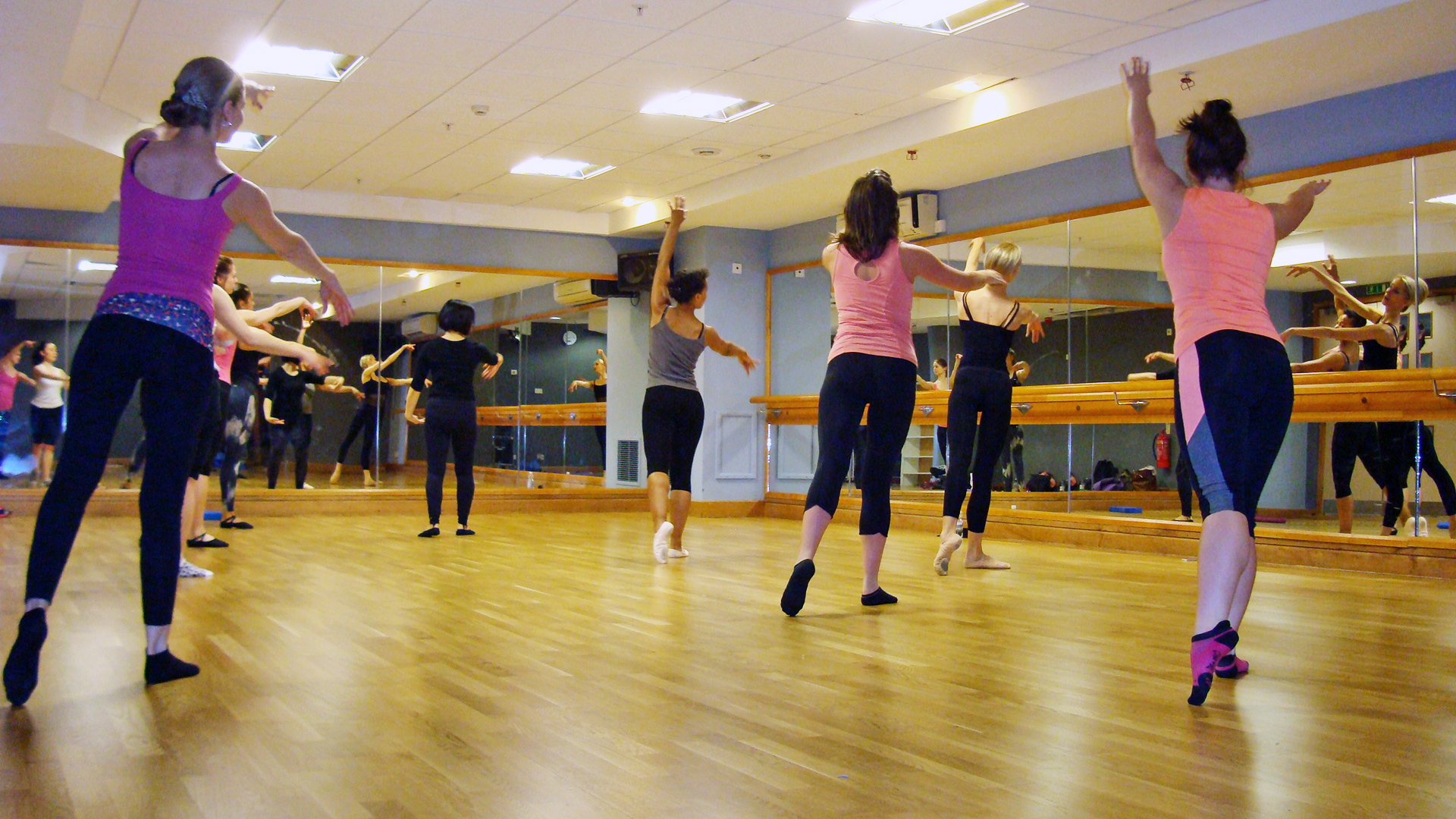 Copy of ballet body sculpture workout classes