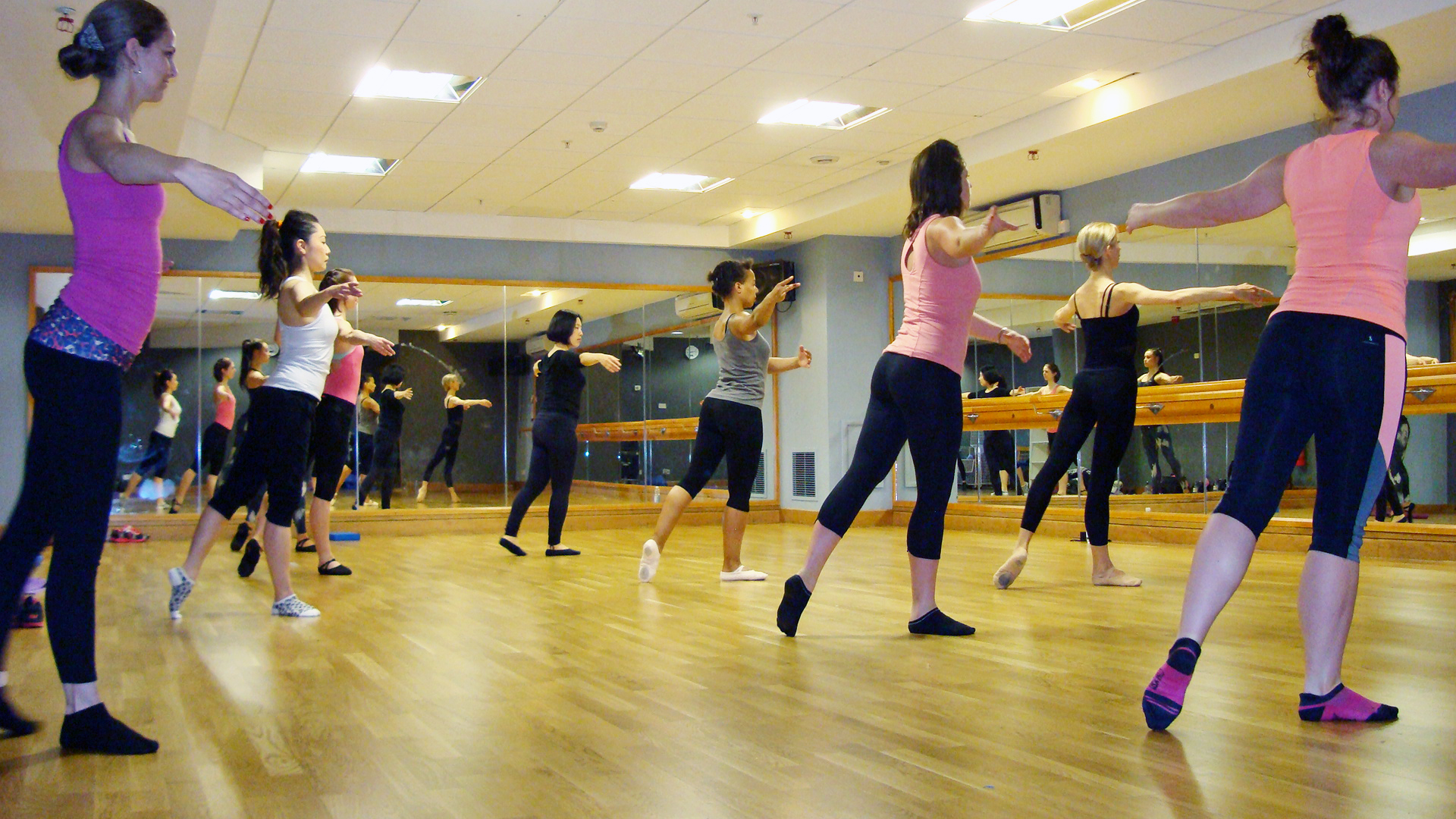 Copy of ballet body sculpture fitness classes