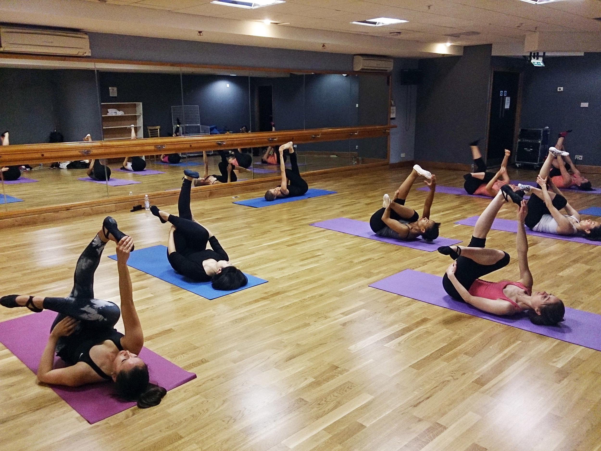Copy of ballet body sculpture flexibility classes