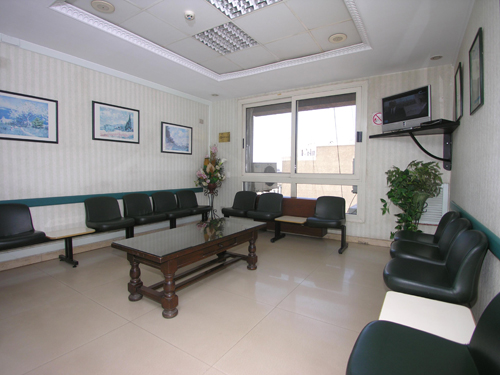 Cairo Cure Waiting Area 1