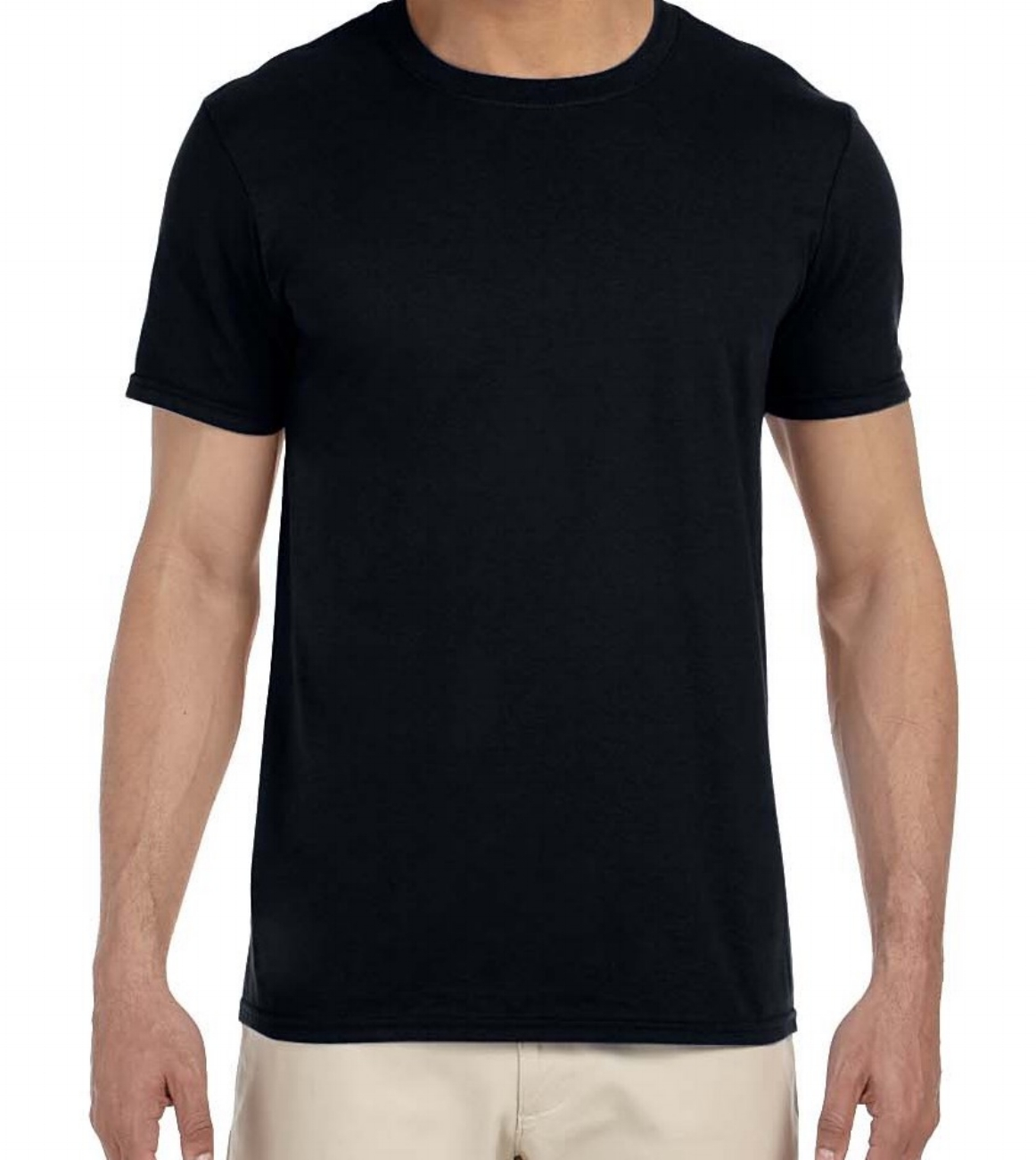"""Unisex """"softstyle"""" crew neck t-shirt (100% cotton in most colours, good fit, soft, $)"""