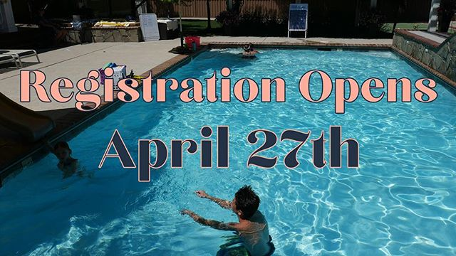 Mark your calendars, registration is opening next Saturday! 🌊