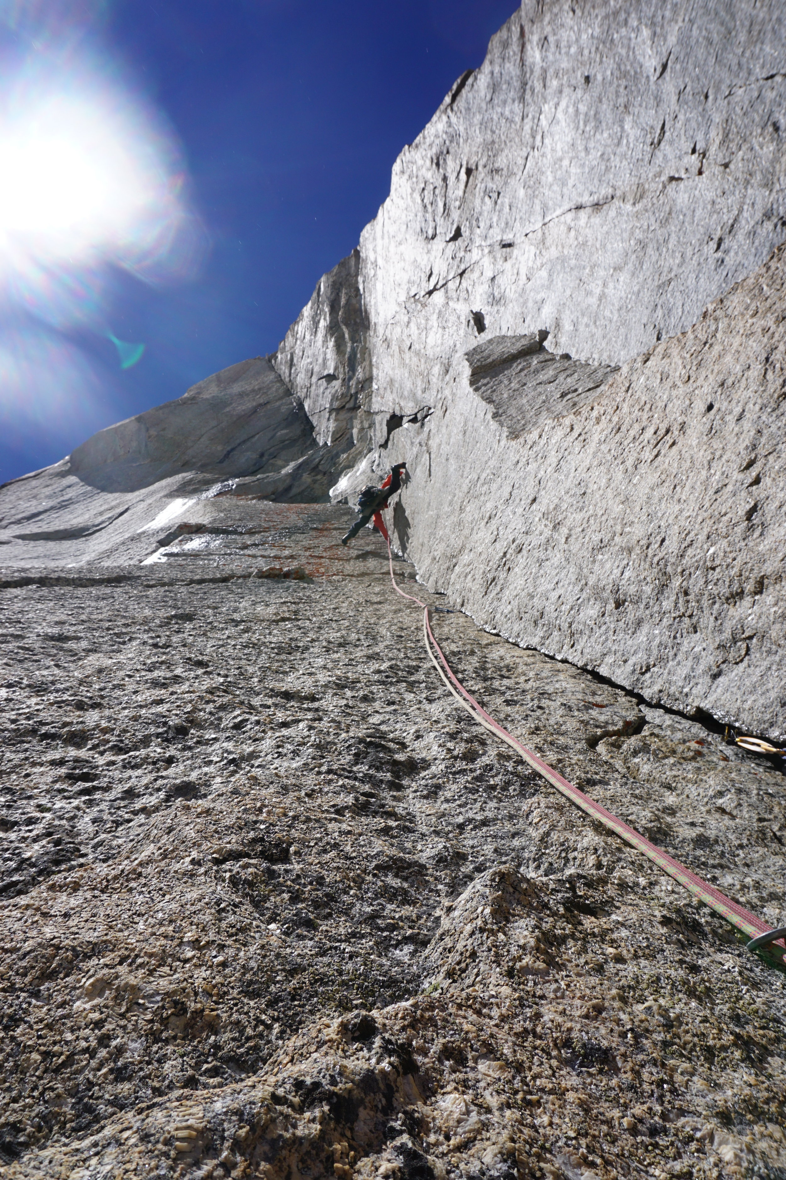 john mccune on divine providence, mont blanc. photo: uisdean hawthorn