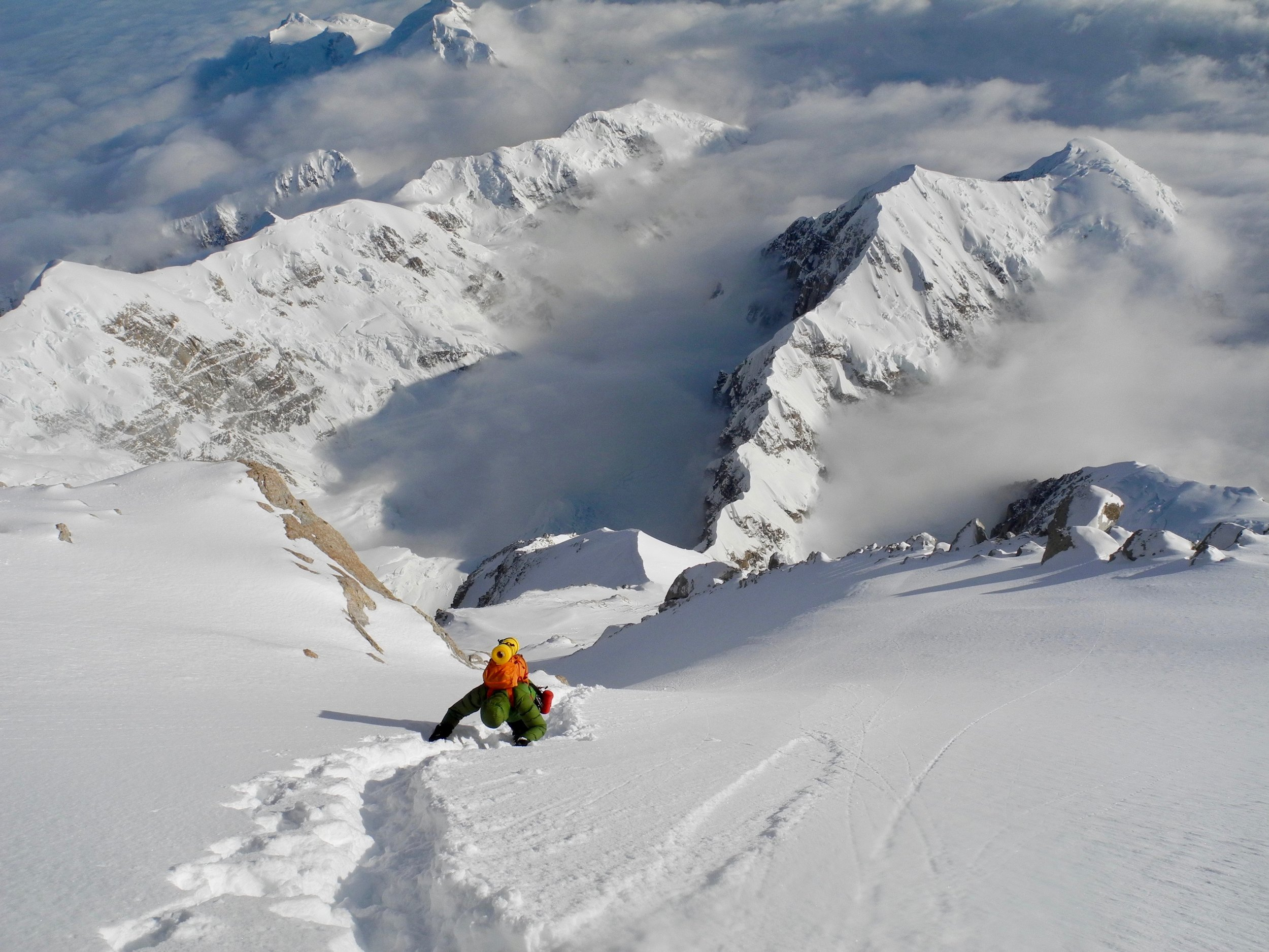cassin ridge, denali. alaska. photo: tom ripley