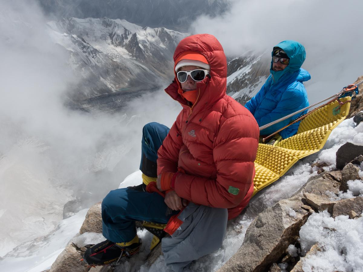Day 4, North Ridge Variation, Latok 1, Karakoram. Pakistan. Photo: Luka Strazar