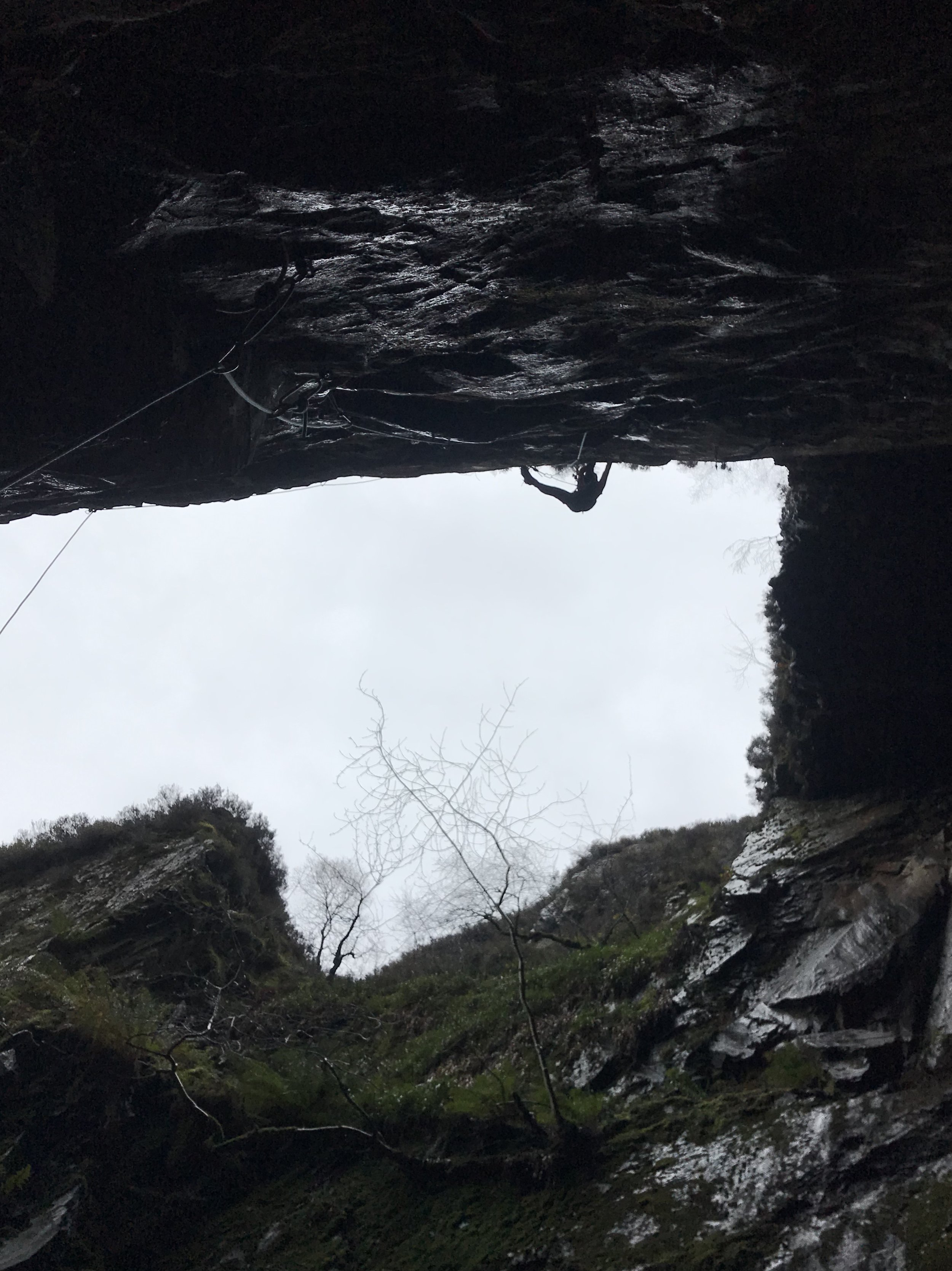 Ben Silvestre experiences the unique world of dry tooling at Mannod, North Wales.