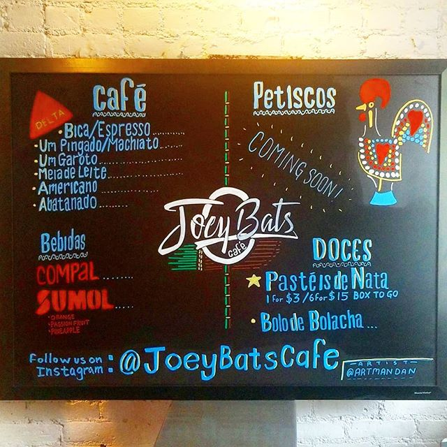 Come visit @joeybatscafe on 129 Allen st !! They have the best #pasteisdenata in #NYC || Definitely worth the visit !!