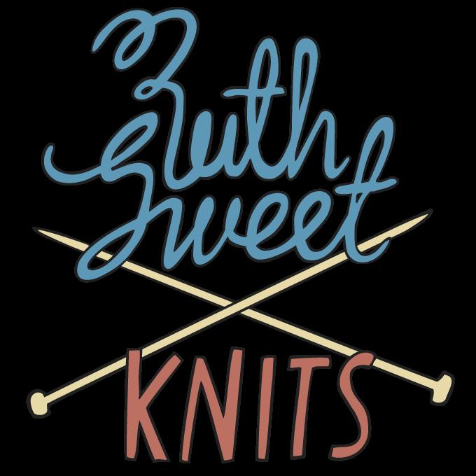 Ruth Sweet Knits logo design