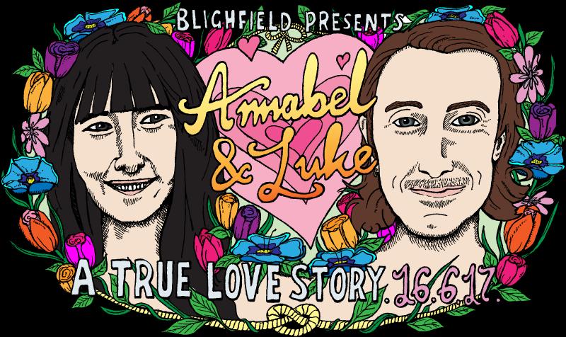 Annabel & Luke wedding banner
