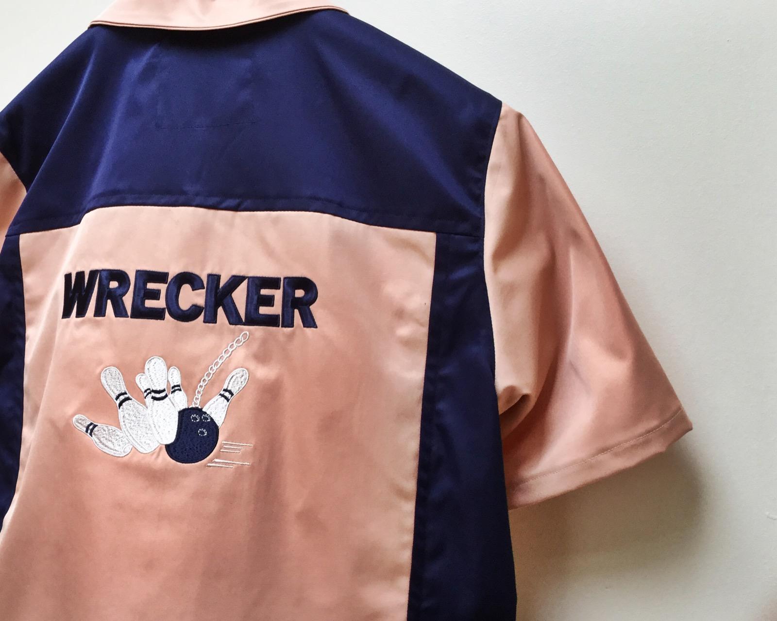 Tellison bowling shirt (Back)