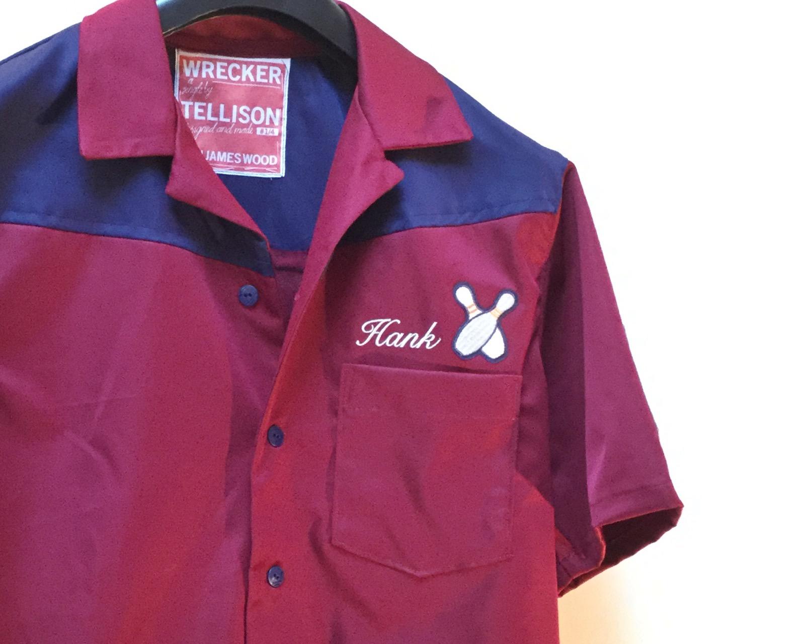 Tellison bowling shirt (Front)