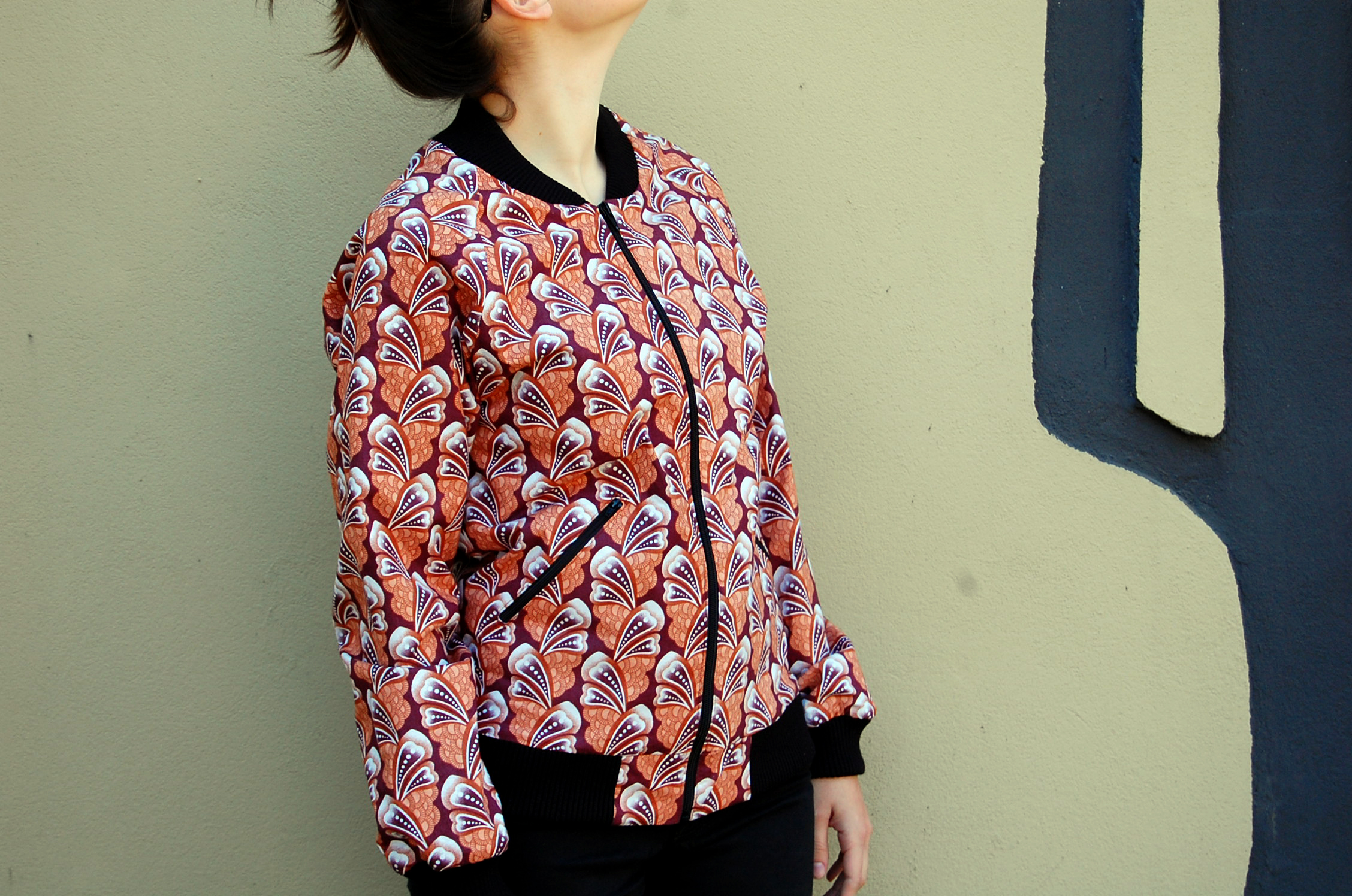 Petals fitted jacket