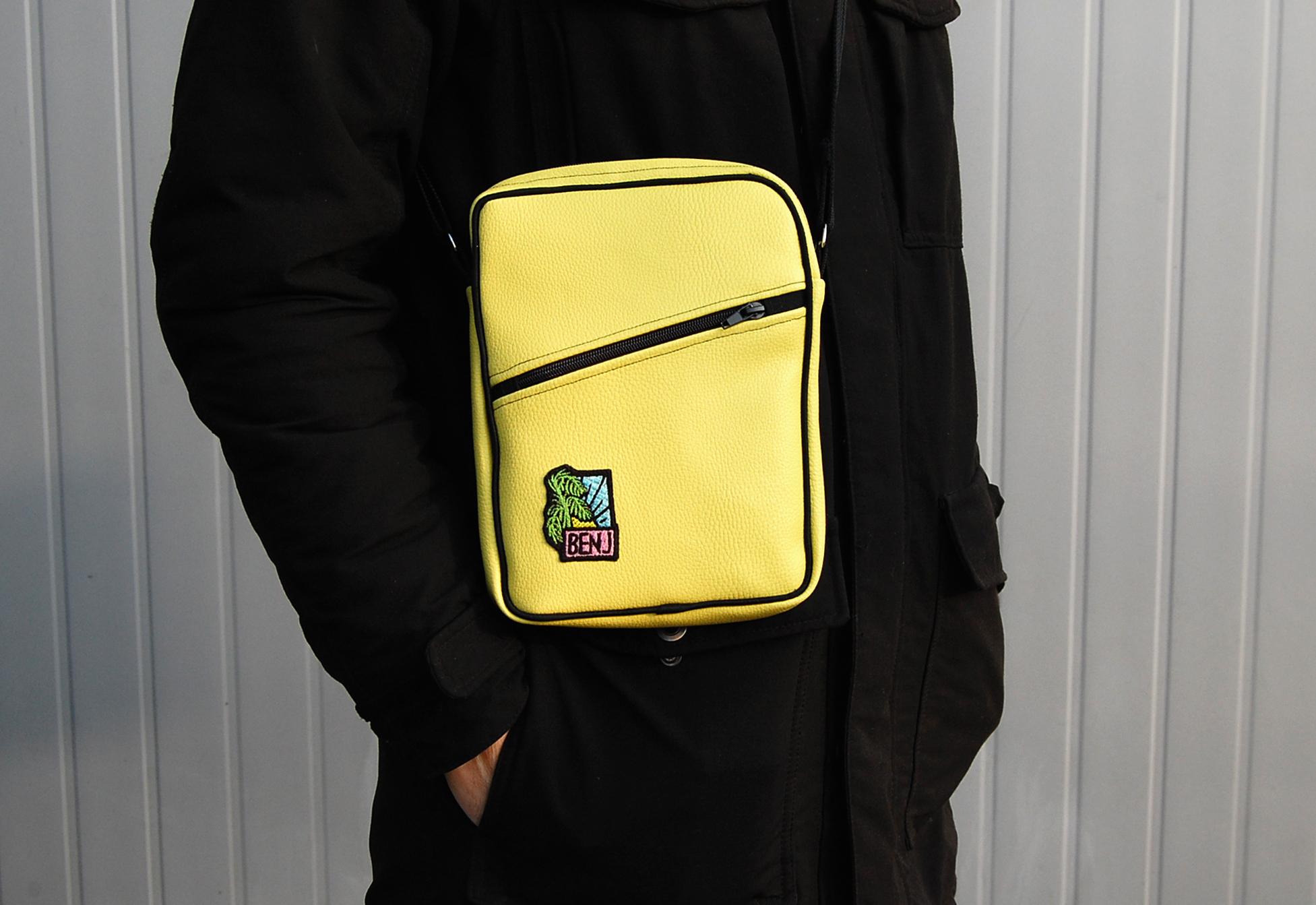 Yellow flight bag