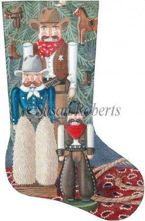 Cowboy Nutcracker Stocking XS260.jpg