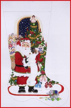 Santa Checking List Girl CS 276.jpg