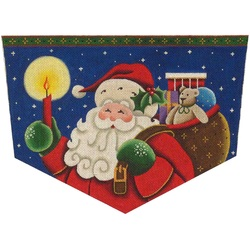 Santa, Candle, Bag of Toys Cuff RW1400A.jpg