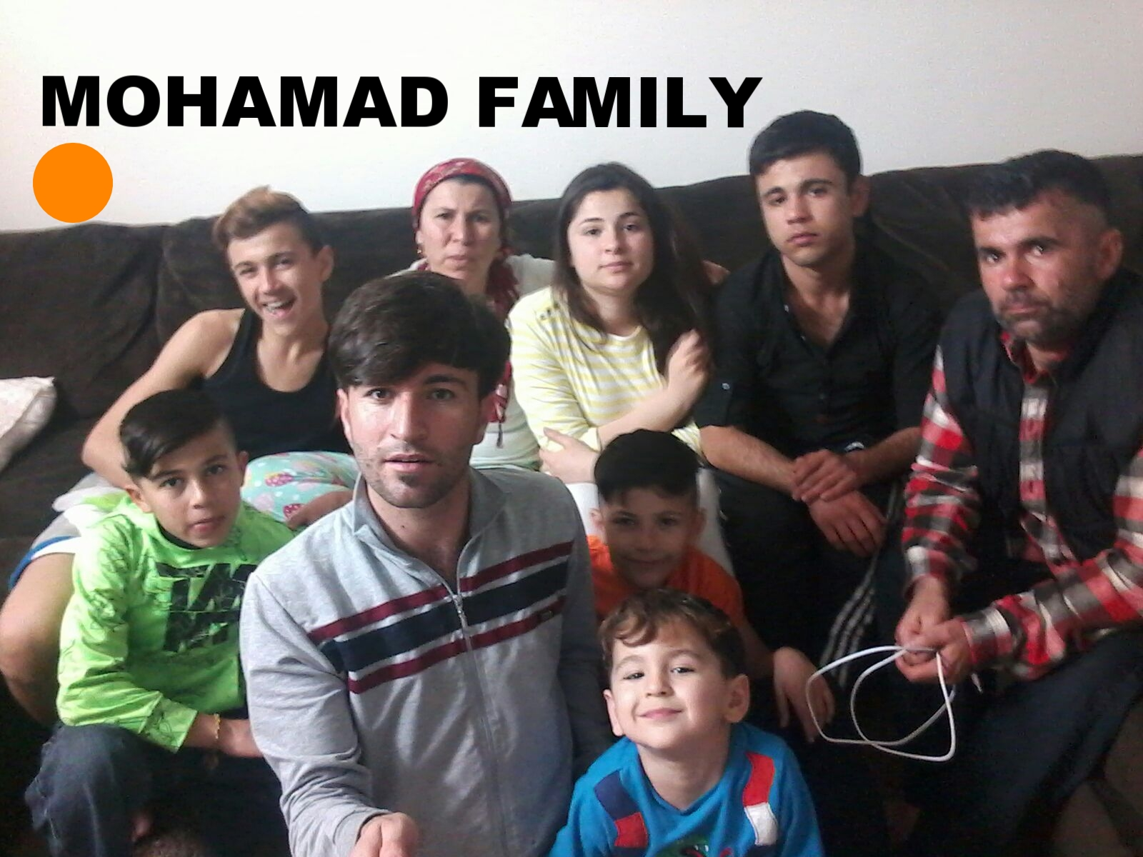 New Arrival Syrian refugee family of NINE! Mom, dad, six sons and a daughter. These people need HOUSEHOLD CLEANING and PERSONAL CARE supplies.