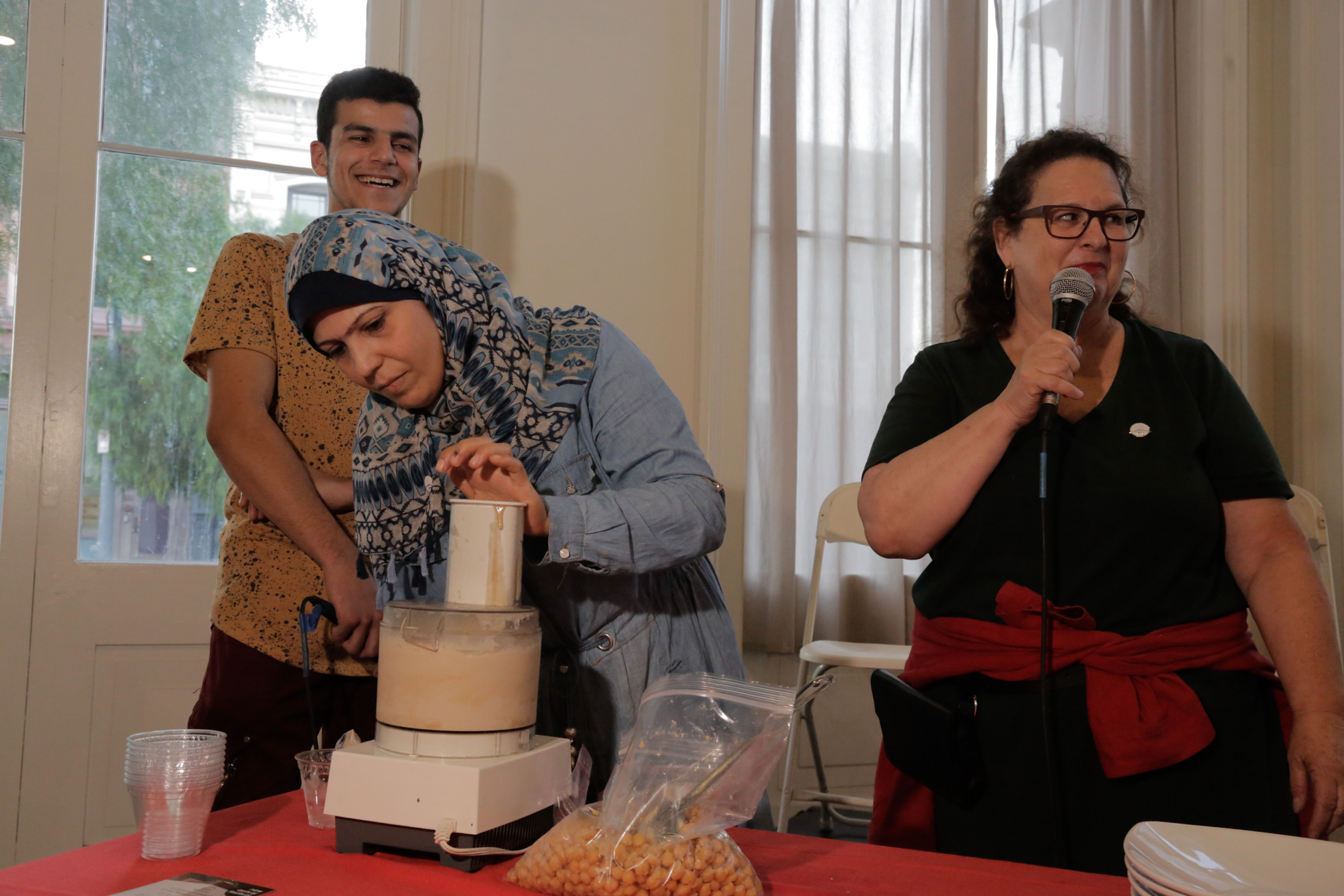 A Syrian Passover-themed meal prepared by Abeer, new Angeleno from Syria and Evan Kleiman of KCRW's Good Food