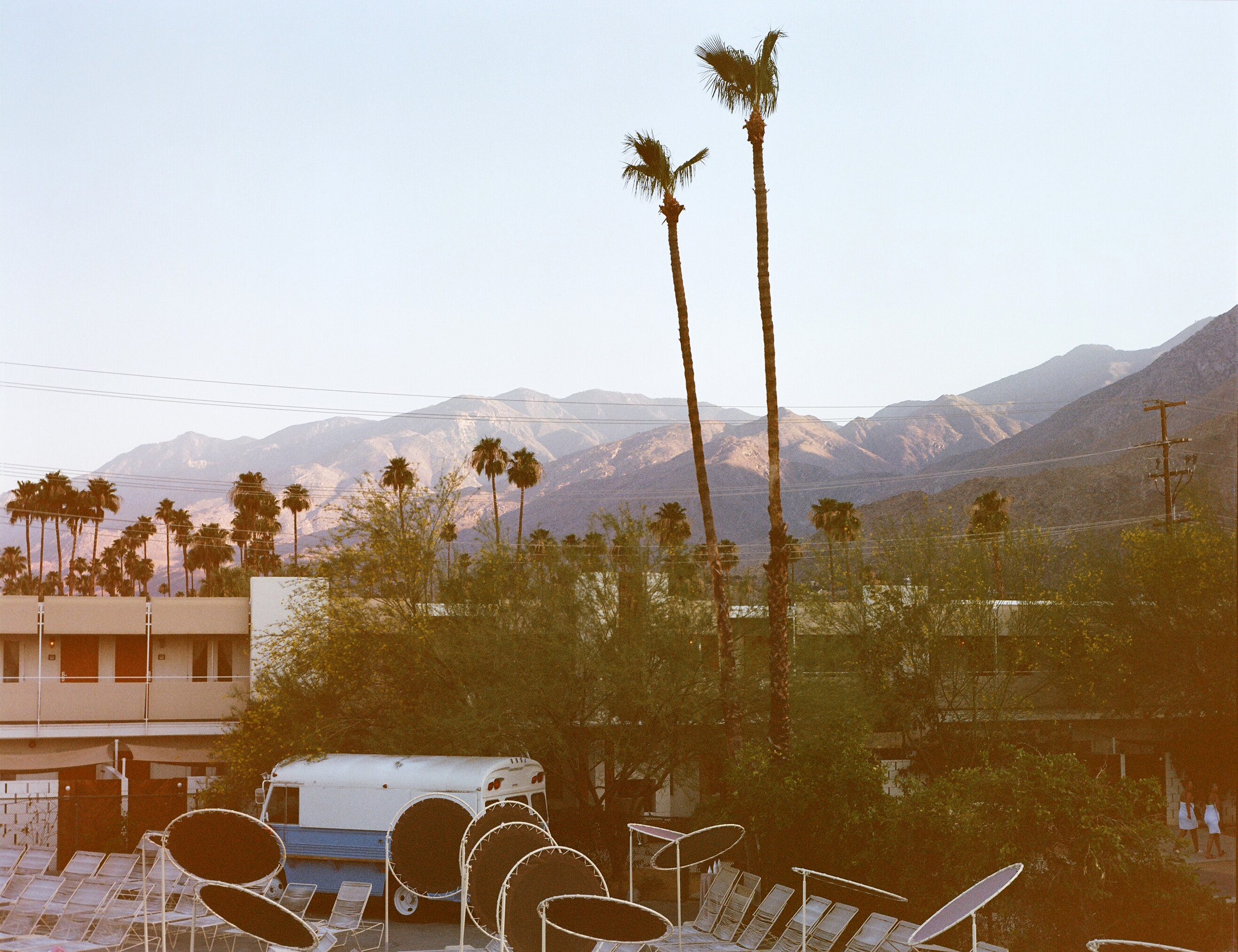 PALM SPRINGS - Hazy daze at ACE Hotel