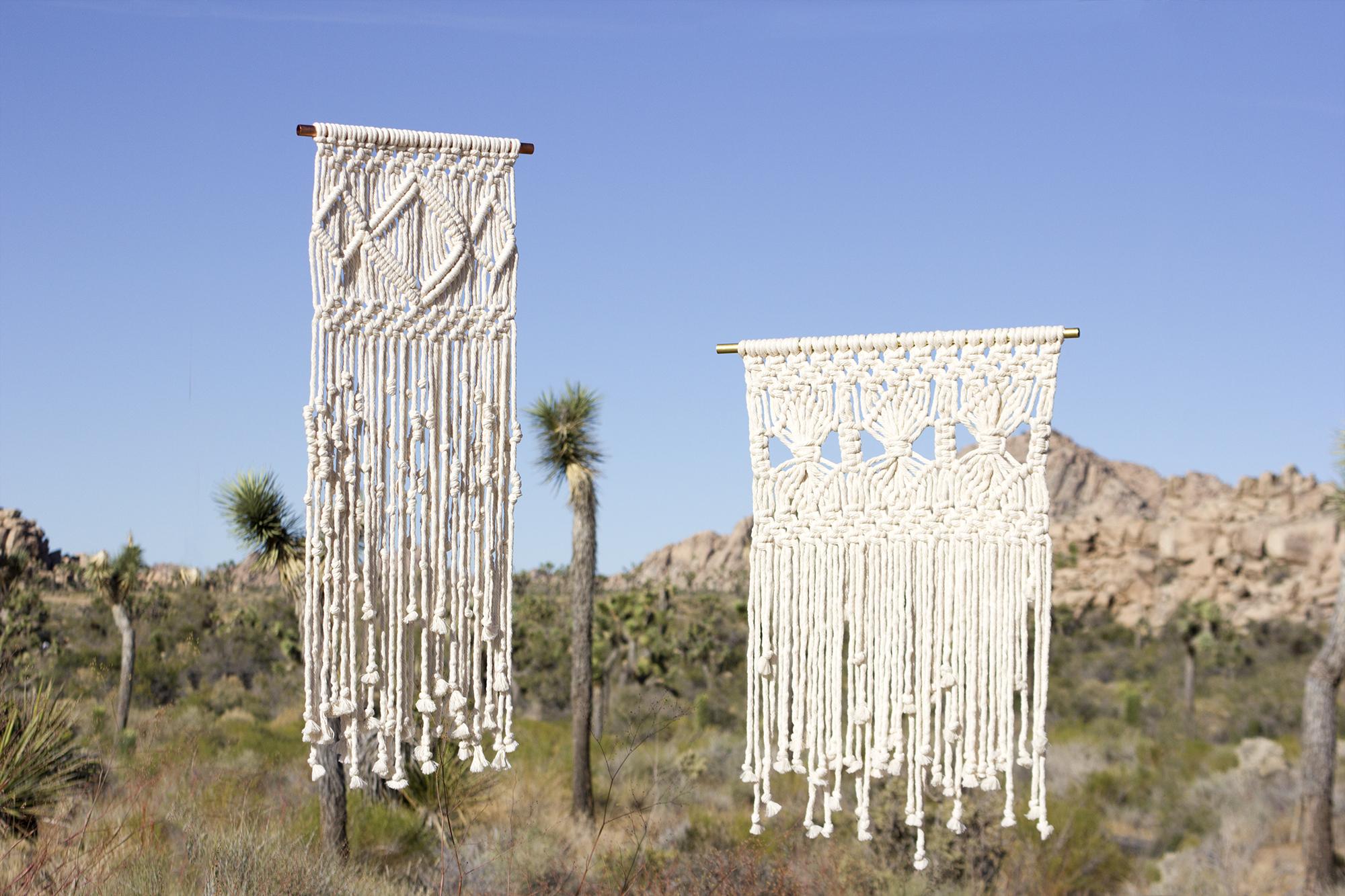WALL HANGINGS - Handmade wall hangings for Open Studio