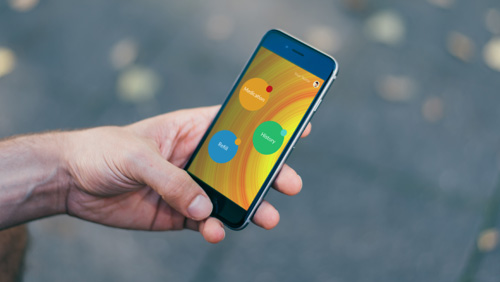 <p>Pilltime</br><strong>Mobile App</strong></p>