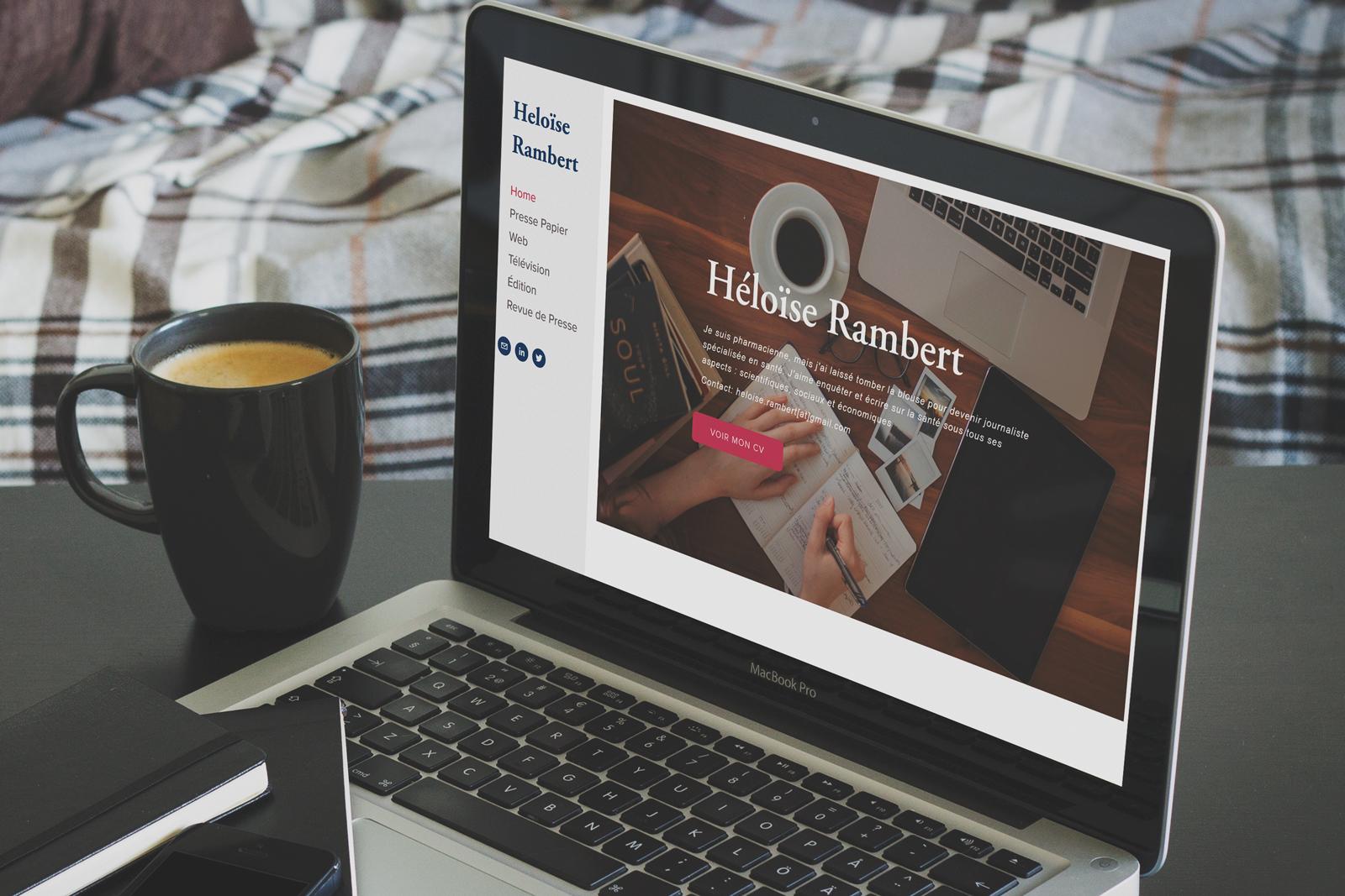 <p> Heloise Rambert</br><strong>Web Designer</strong></p>