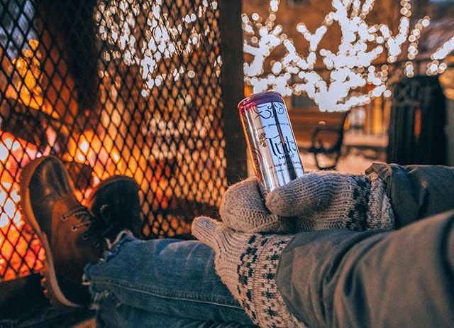 Oh, the weather outside is frightful, But the fire is so delightful! ... To all our friends who endured the polar vortex - we hope you are warm, safe, and cozy!