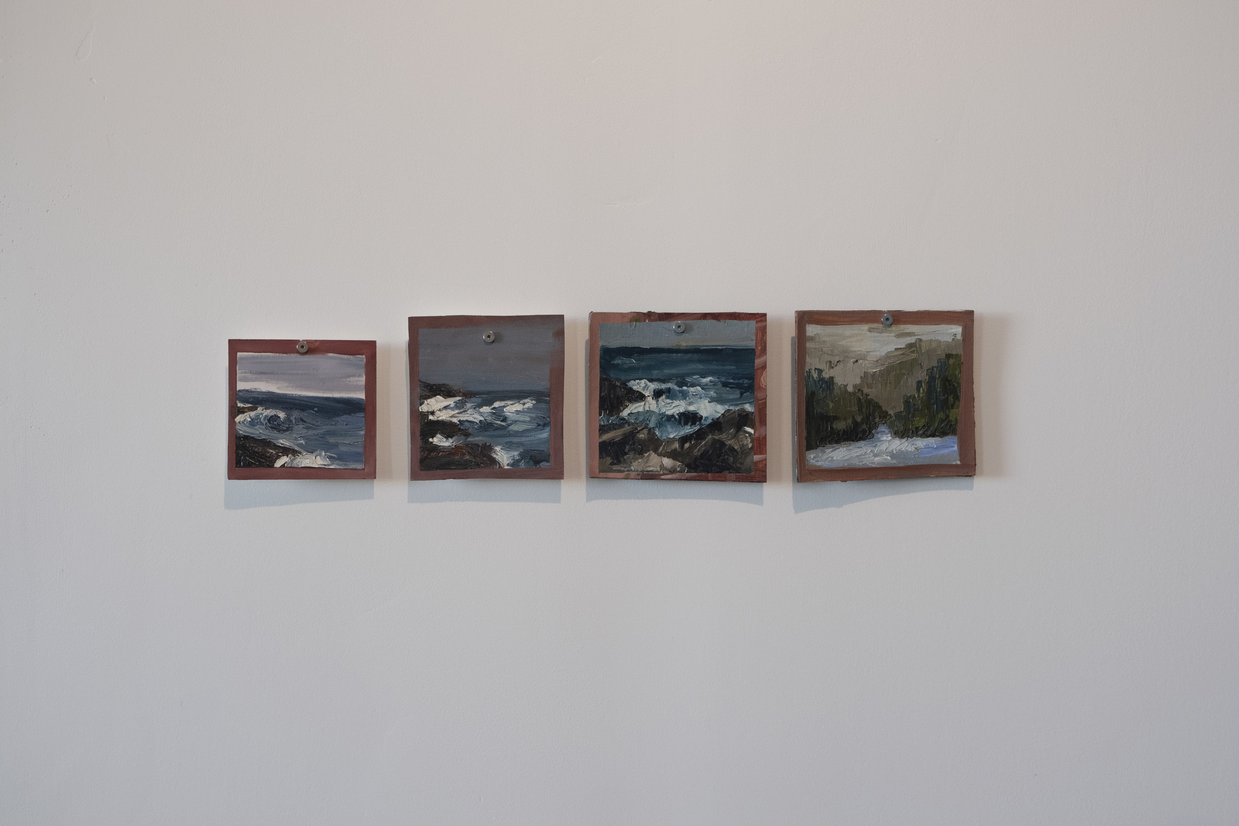 Emily Marie Charles - Untitled 1, 6, 7, 9