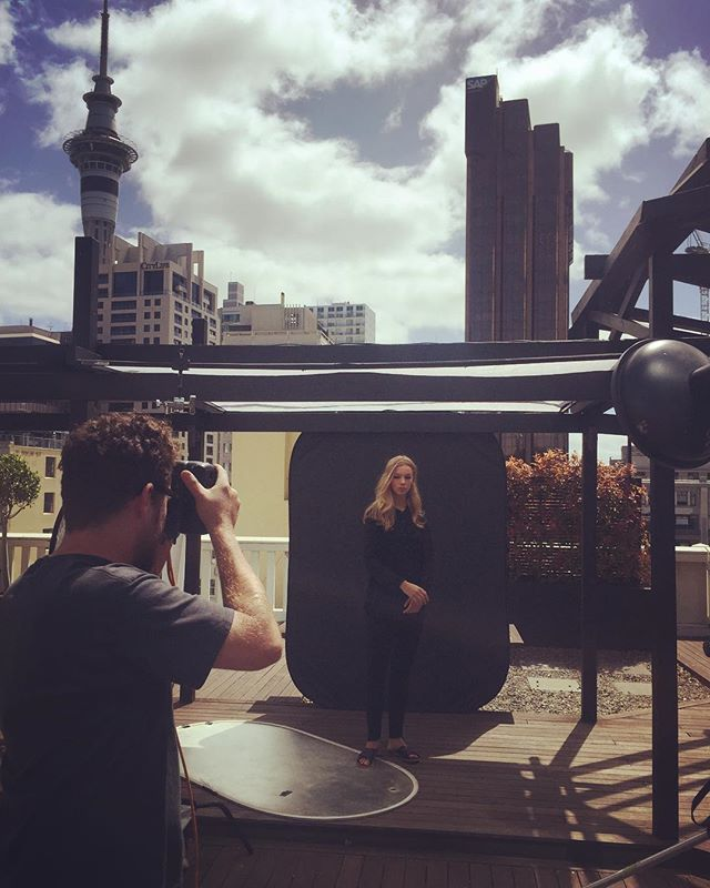 Throwback to making studios on rooftops for @farmersnz ☁️☁️