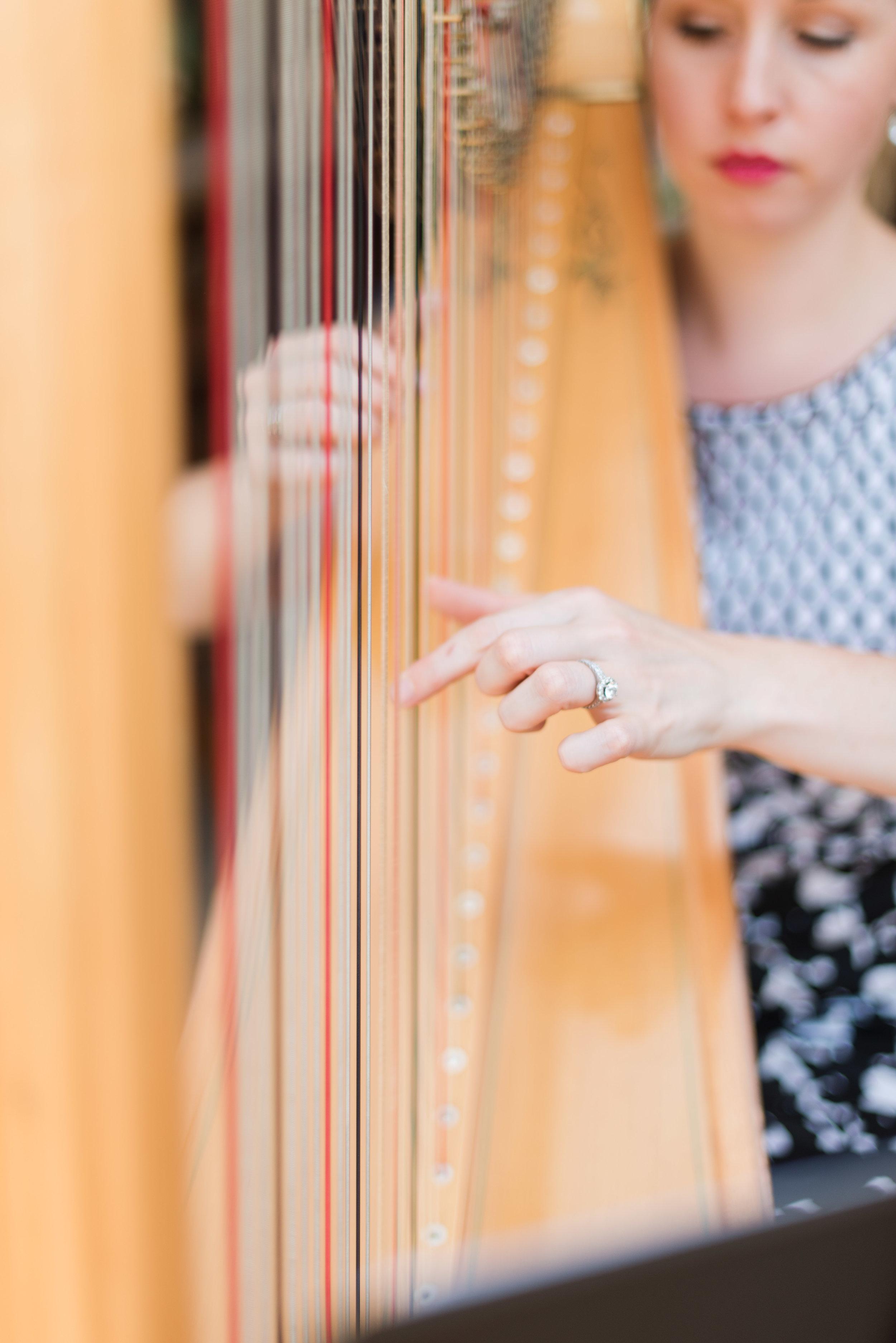Pittsburgh Wedding Planner Sound of Elegance Harpist