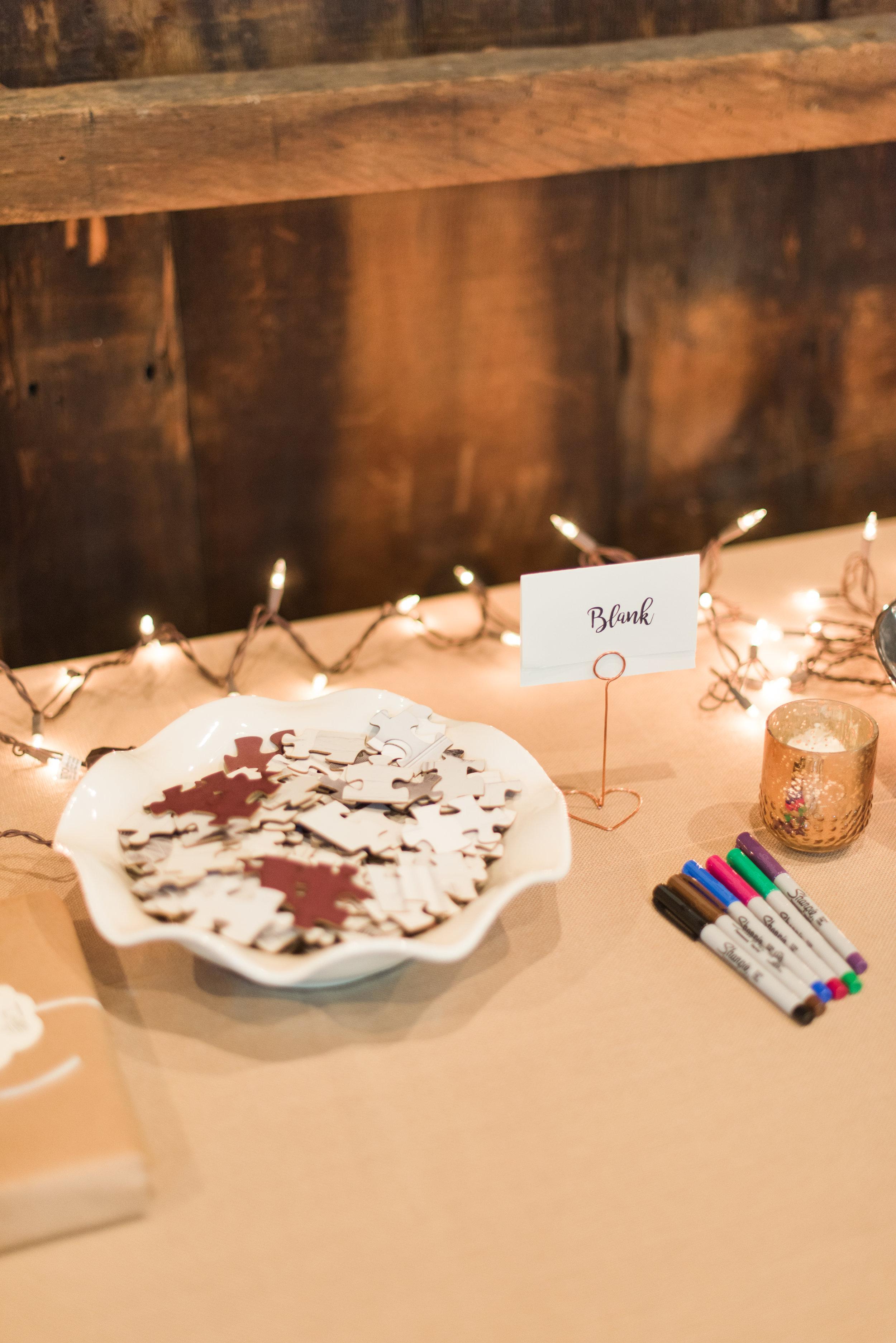 Pittsburgh Wedding Planner Guest Book