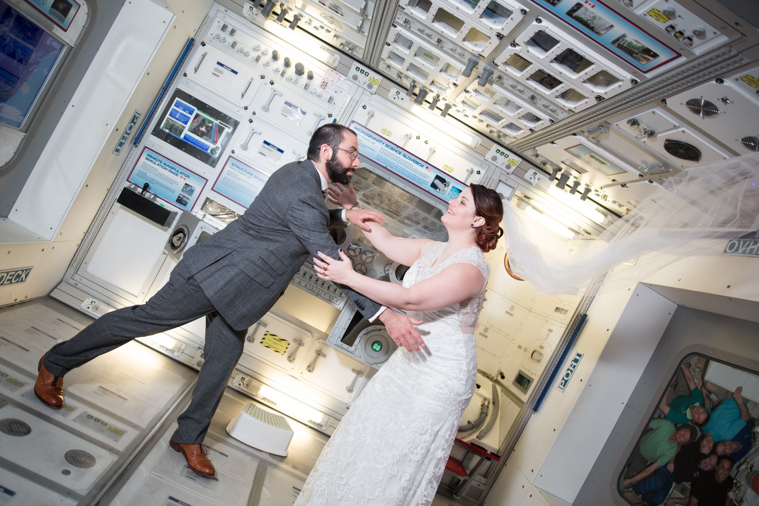 Science center wedding - maria silva photography