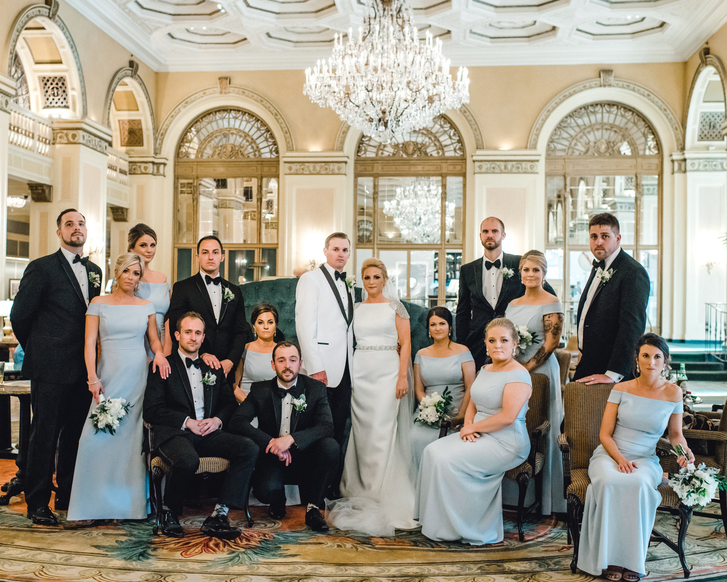 Omni William Penn Wedding