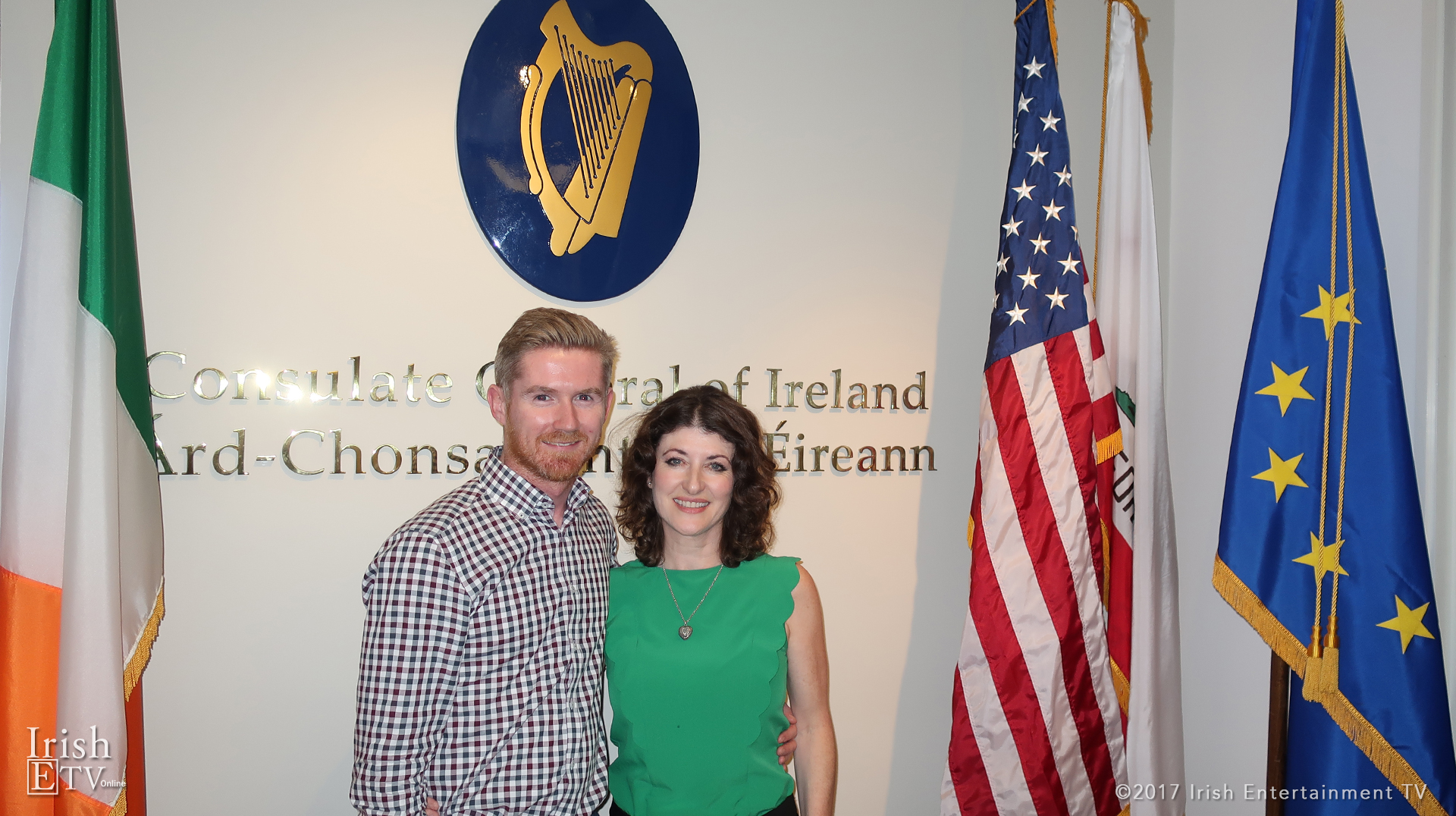 Vice Consul of Ireland John Callaghan, Brigid Boden