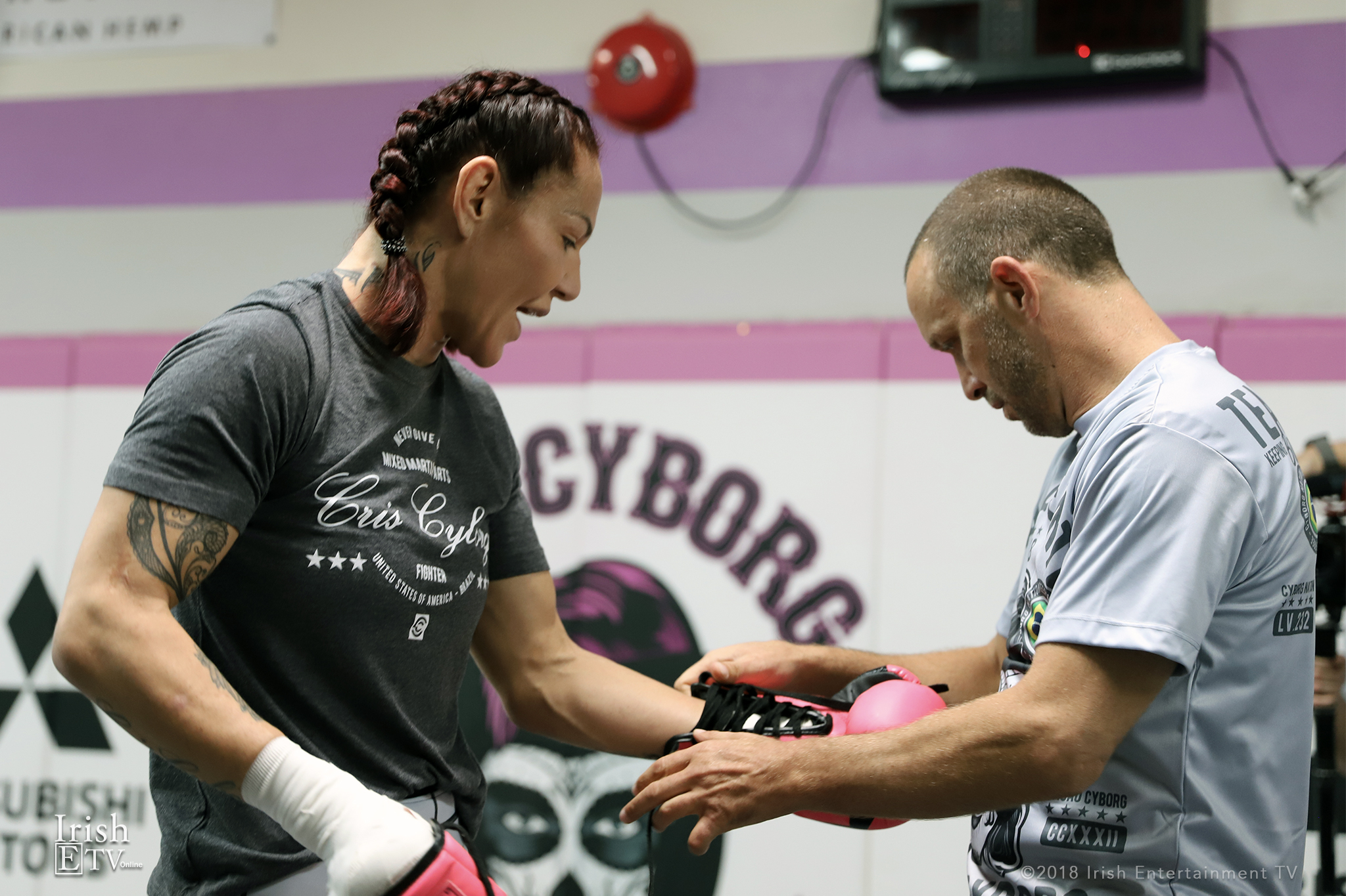 Cris Cyborg, Jason Parillo