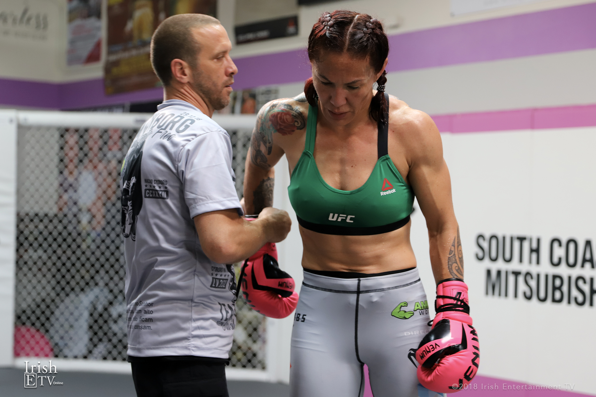 Jason Parillo, Cris Cyborg