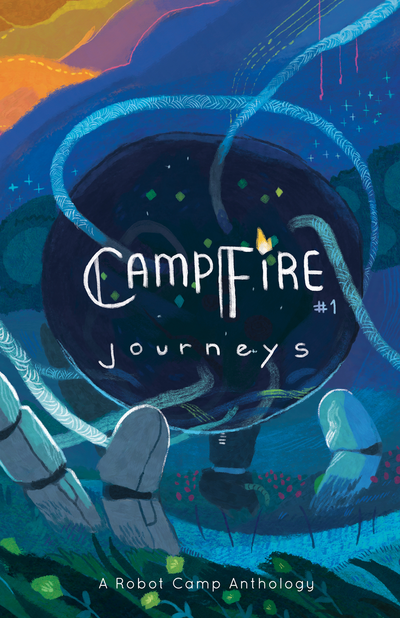 Campfire #1 cover by  Hailey Thurrott
