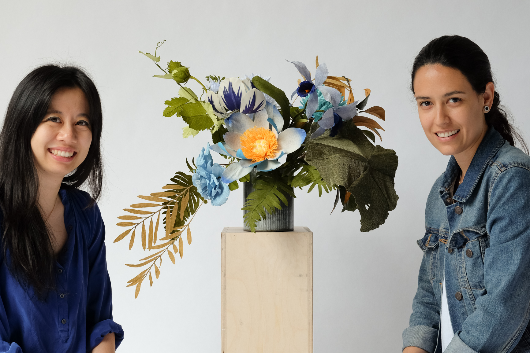Yang (left) and Anna (right), Photography by Adrian Walker