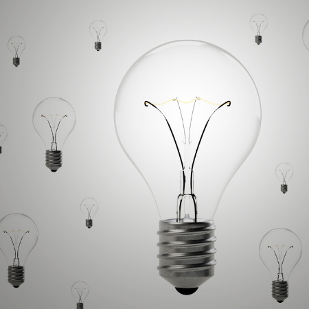 The lightbulb of innovation