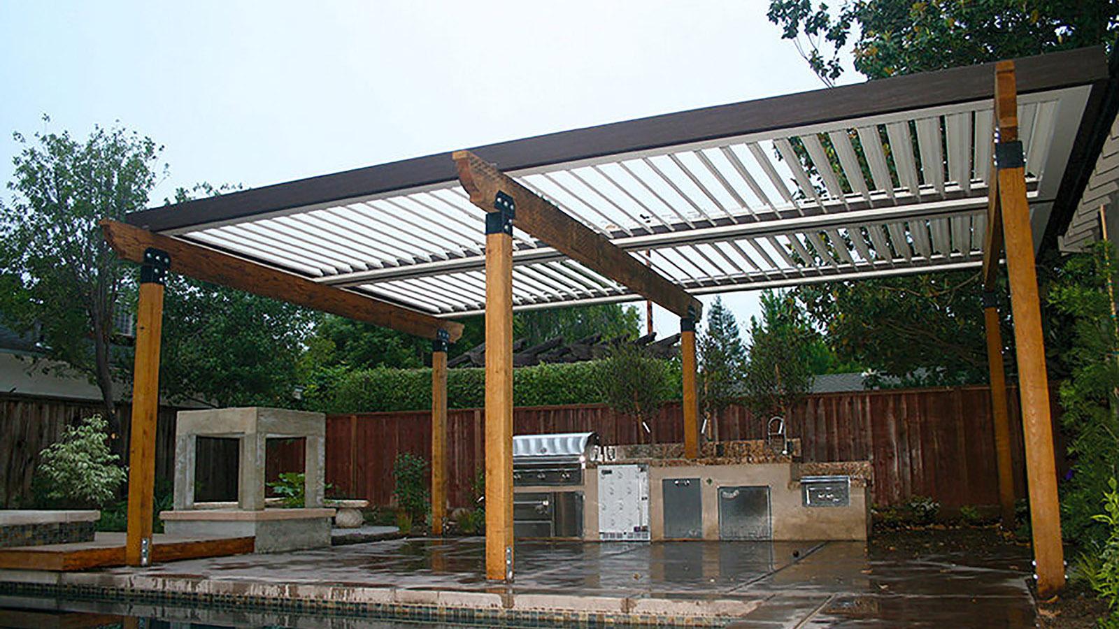 Residential Gallery-home outdoor kitchen pool cedar pergola.jpg