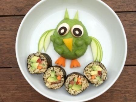 Avocado morepork