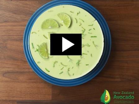 Avocado CheeseCake Video