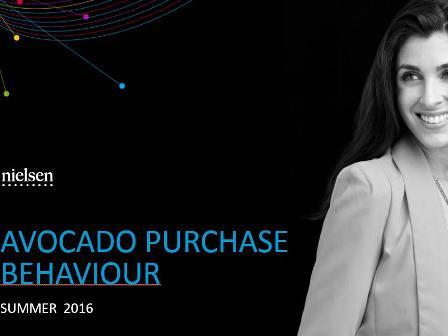 2016 Avocado purchase behaviour