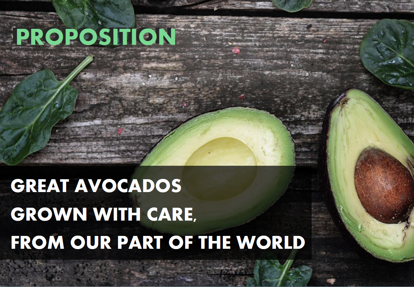 NZ Avocado Australia Promotions Positioning