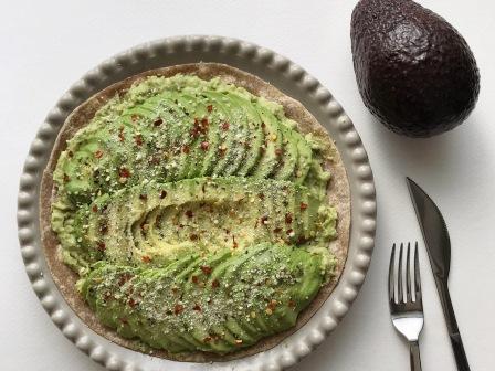 avocado pizza