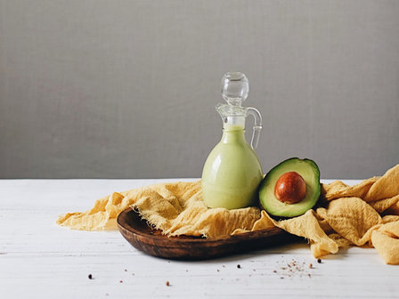 Avocado Lemon Dressing and Salad
