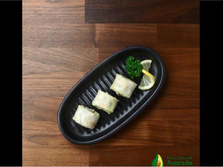 avocado salad roll