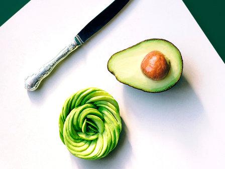 avocado and rose avocado image