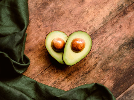 avocado halves landscape